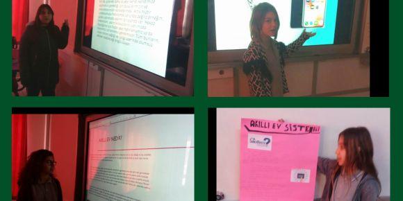 Didim Efeler Ortaokulu 6/B sınıfından hazırlıklı konuşma etkinliği