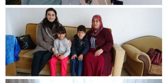 Aile ziyaretlerimize devam ediyoruz