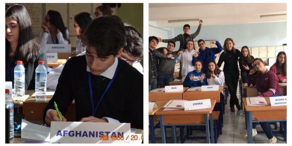 Ankara Gazi Anadolu Lisesi Model Birleşmiş Kulübü'nden bir ilk
