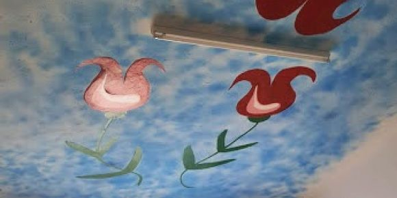 Resim atölyemizi birlikte boyuyoruz