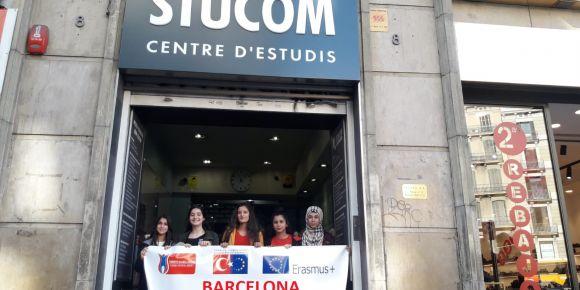 Erasmus+ projesi ile Barselona gezisi