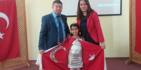 Uşak/Banaz Şehit Veli Uludağ Derbent İlkokulu şiir okuma yarışması