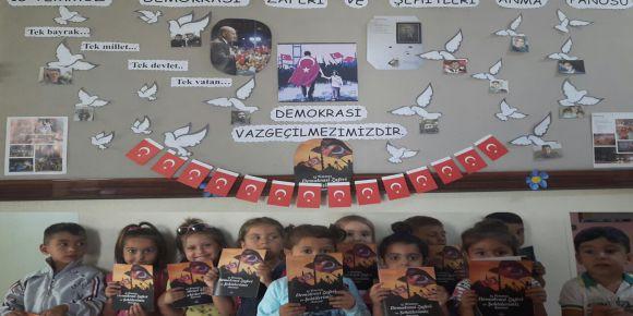 """Çanakkale Biga'da ´15 Temmuz Demokrasi Zaferi ve Şehitleri"""" anıldı"""