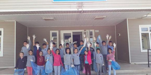 Eko-Okullar Programı Geri Dönüşüm Projesi okulumuzda hayat buluyor