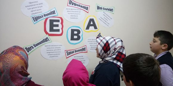 Sarıcakaya İmam Hatip Lisesi'nde EBA tanıtımları