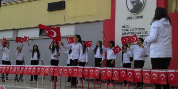29 Ekim Cumhuriyet Bayramı okulumuzda coşkuyla kutlandı