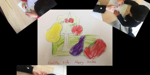 Öğrencilerle Sağlıklı Yaşama Bir Adım