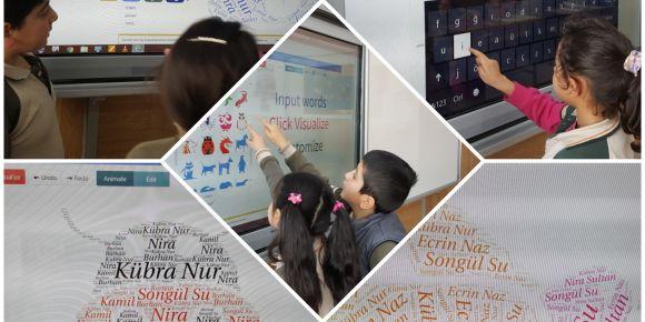 2 - D Sınıfı öğrencileri WordArt ile tanıştı.