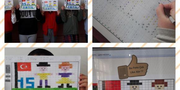 Öğrencilerimizin kodlama etkinliği devam ediyor