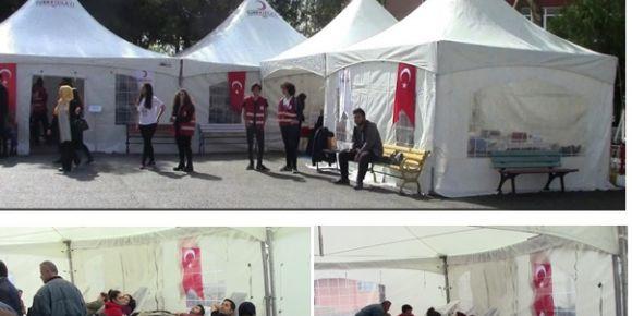 Kartal Anadolu Lisesi kan bağışı kampanyası