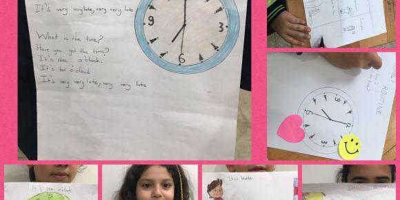 4/B Sınıfı öğrencilerinin  '' English is Fun '' eTwinning projesi etkinlikleri
