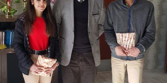 Adnan Menderes Anadolu Lisesinde  kitap okuma ve kompozisyon yarışması düzenlendi