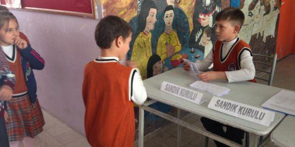İstiklal İlkokulu okul temsilcisi seçimi yapıldı