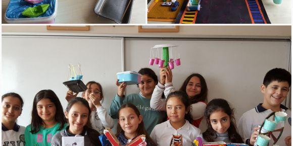 Didim Valiler Ortaokulu 6-C Sınıfı Öğrencilerinden Fun Fair Rides