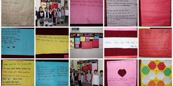 Güzel ahlaklı ve güzel davranışlı öğrenciler