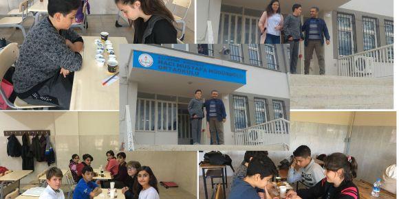Burhaniye Hacı Mustafa Müdüroğlu Ortaokulu mangala turnuvası