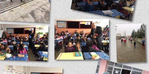 Midyat Portakal çiçeği anaokulu iyilik ve yardımlaşma değerimiz