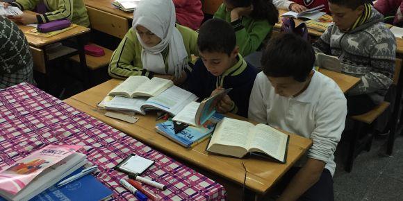 Sarıt Ortaokulu okuyor