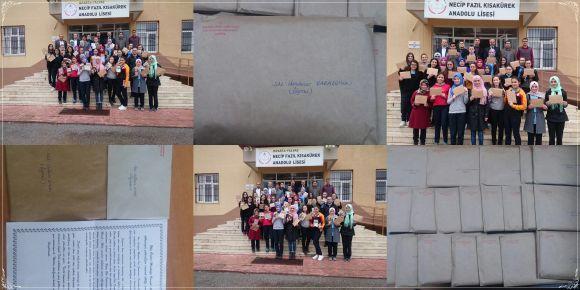 Isparta-Yalvaç NFK Anadolu Lisesi ile Uludere Jandarma Komutanlığı arasında gönül köprüsü