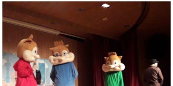 Eğlenceli çocuk tiyatrosu