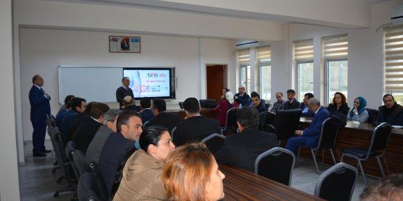 Trabzon bilgi kaynağı EBA (BİKEBA) projesi toplantılarının ilki Yomra ilçesinde yapıldı