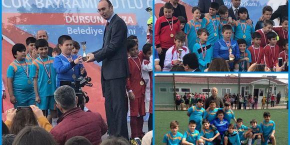 Şehit Süleyman Bey İlkokulu futbol takımı ilçe de düzenlenen  turnuvada 2. olmuştur