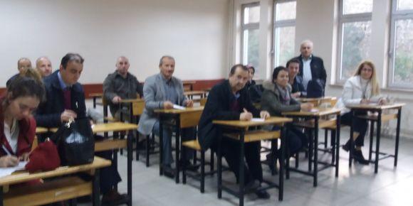 Coğrafya öğretmenleri Yomra'da toplandı