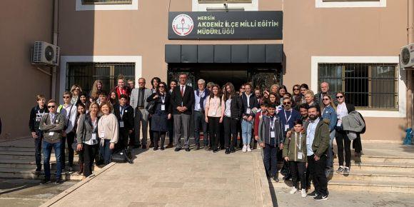 """Mimar Sinan Ortaokulu """"STEAM'le Gelişiyorum"""" Erasmus+ Projesi Mersin'de Başladı"""