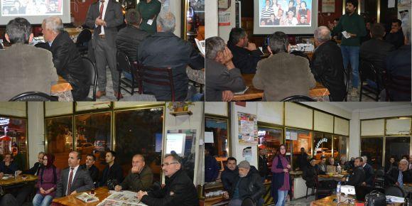 Bilecik Osmaneli İlçesinde Veliler İle Kahvehane Sohbetleri projesi başladı