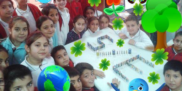 5-E sınıfı doğayı seviyor