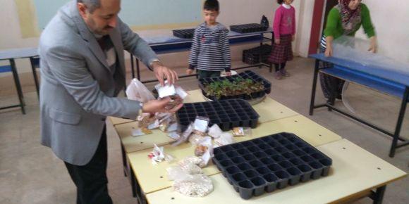 """""""Çocuk Çiftçilerle Doğal Tarım"""" Uluslararası eTwinning Projesi"""