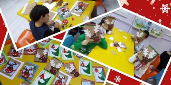 Creativitiy İn The Classroom adlı projemizin Yeni Yeni yıl Kartı etkinliği