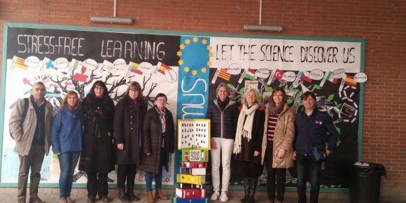Defne Necmi Asfuroğlu Anadolu Lisesi öğretmenleri Barcelona'da