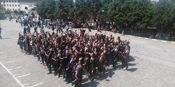 Akşehir Anadolu Lisesi mezuniyet töreni
