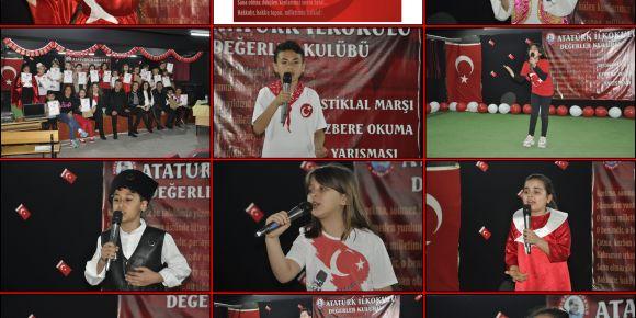 İstiklal Marşı Ezbere Okuma Yarışması