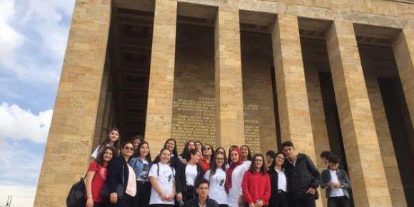 ''Birlikten Cumhuriyet Doğar''proje ekibi Anıtkabir'de