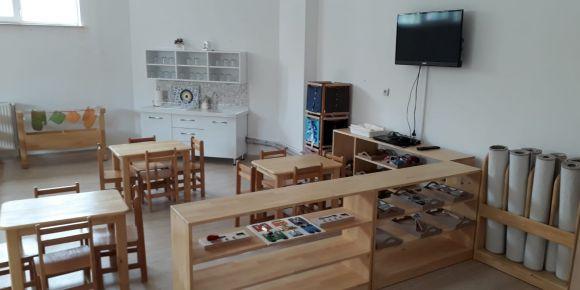 Mehmet Akif Ersoy Anaokulunda Montessori Uygulamaları