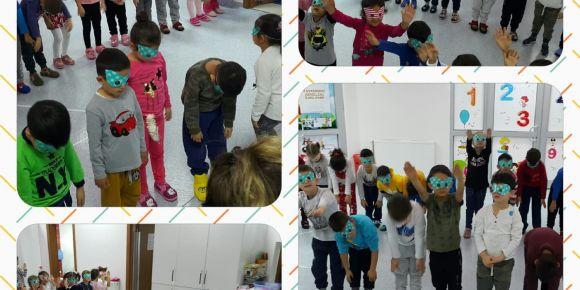 Vilayetler Hizmet  Birliği Anaokulu robotik dans gösterisi yaptılar