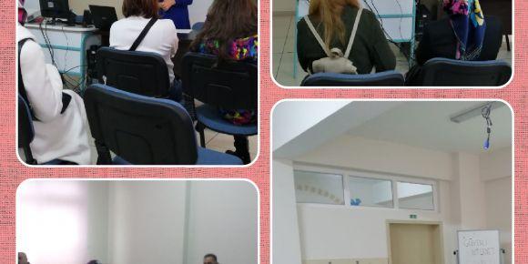 Güvenli internet kullanımı hakkında velileri bilgilendirme toplantısı