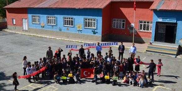 Barış Pınarı Harekatına öğrencilerimizden destek