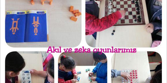 Akıl ve Zeka Oyunları ile Hem Eğlendik Hem Öğrendik
