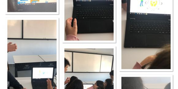 Diyarbakır Okyanus KOLEJİ 9FenA öğrencileri kodluyor
