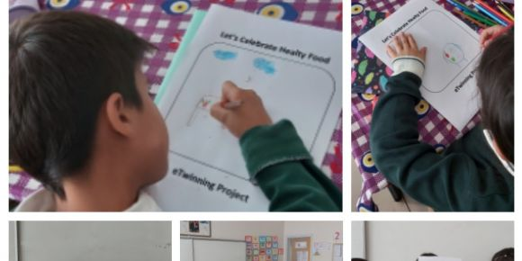 Öğrencilerin logo tasarım etkinlikleri