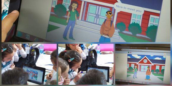 Pursaklar Satı Öztürk ilkokulu Scratch ile kodlama öğreniyor