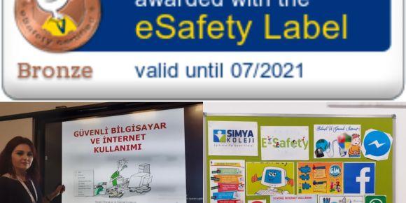 eSafety Label Bronz Etiketimizi Aldık