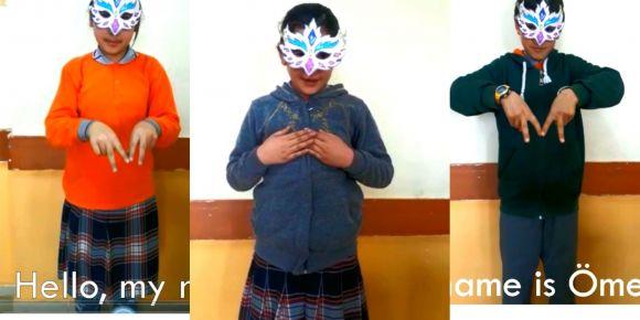 """Construct Act Learning"" İsimli eTwinning Projesinde İşaret Dilini Kullandık"