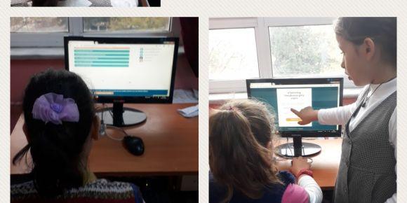 Öğrenciler twinspace kullanıyor