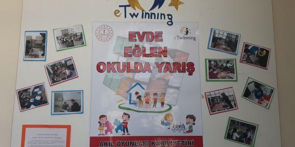 Evde Eğlen Okulda Yarış Projesi Okulumuzda Başladı