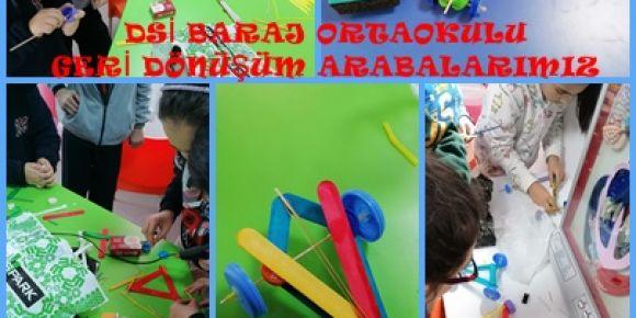 Dsi Baraj Ortaokulu öğrencileri ile STEM etkinliği