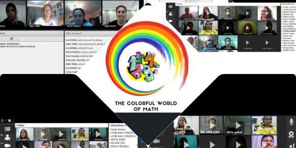 eTwinning The Colorful World Of Math Projesi Çevrimiçi Öğretmen Görüşmesi Yapıldı